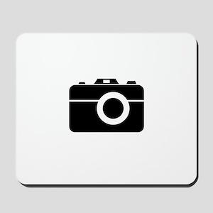 PhotoBroke White Mousepad