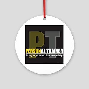 PT HR Round Ornament