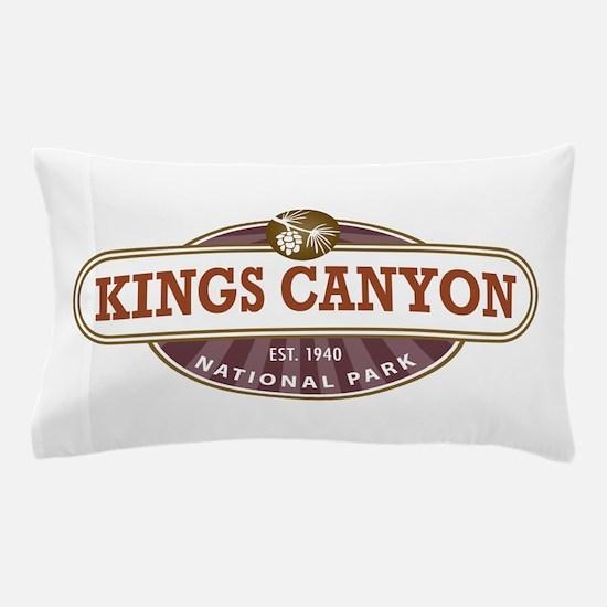 Kings Canyon National Park Pillow Case