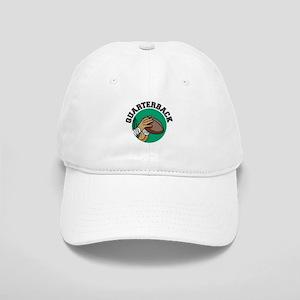 Quarterback Green Logo Cap
