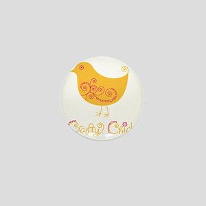 craftychickorgpink Mini Button