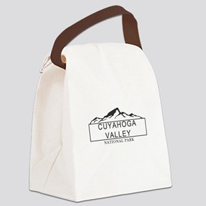 Cuyahoga Valley - Ohio Canvas Lunch Bag
