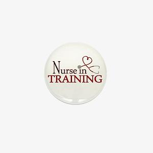 Nurse in Training Mini Button