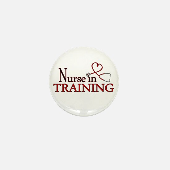 Nurse in Training Mini Button