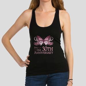 30th Wedding Aniversary (Butterfly) Racerback Tank
