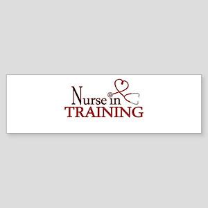 Nurse in Training Bumper Sticker