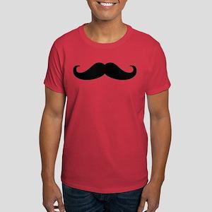 Mustache Beard Dark T-Shirt