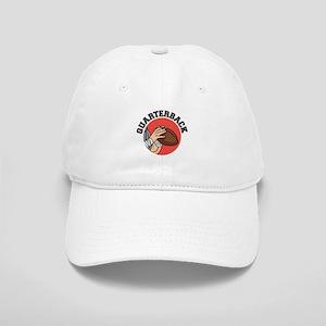 Quarterback Red Logo Cap