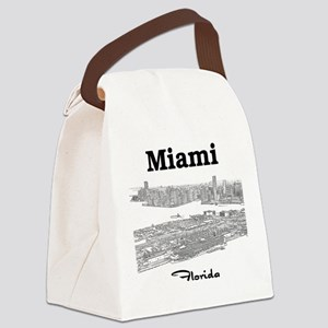 PortOfMiami_10x10_apparel_BlackOu Canvas Lunch Bag