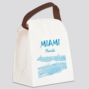 PortOfMiami_10x10_apparel_LightBl Canvas Lunch Bag