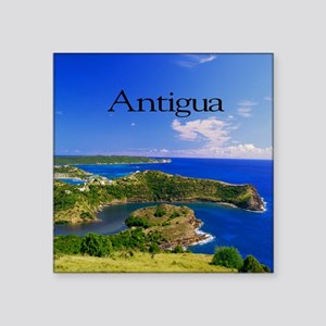 "Antigua15.35x15.35 Square Sticker 3"" x 3"""