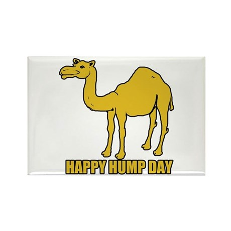 Happy hump day 2 Rectangle Magnet (100 pack)