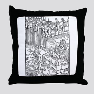 Vlad the Impaler Throw Pillow