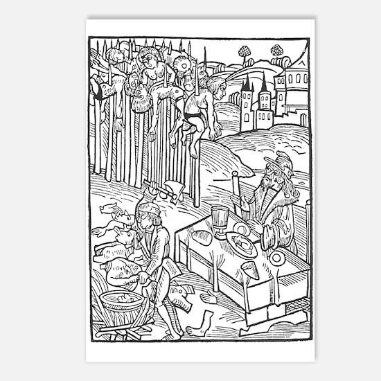Vlad the Impaler Postcards (Package of 8)