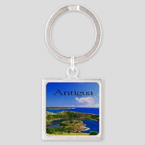 Antigua11.5x9 Square Keychain