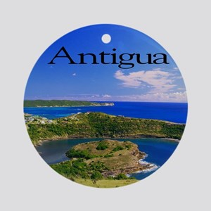 Antigua11.5x9 Round Ornament
