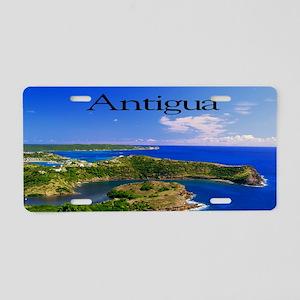 Antigua42x28 Aluminum License Plate