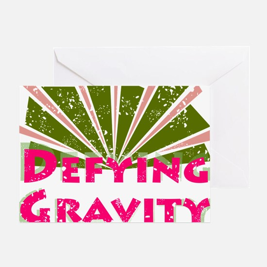defyinggravity Greeting Card