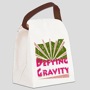 defyinggravity Canvas Lunch Bag