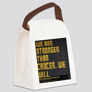 We are stronger Canvas Lunch Bag