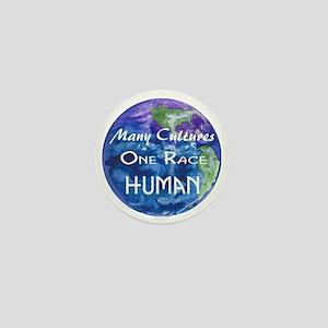 Earth illustration Mini Button
