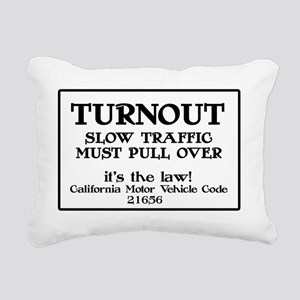 pullover Rectangular Canvas Pillow