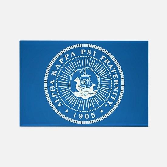 Alpha Kappa Psi Logo Rectangle Magnet