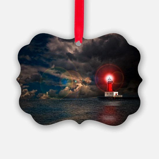 new lighthouse framed Ornament