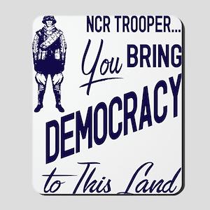 Democracy Light Mousepad