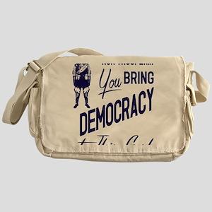 Democracy Light Messenger Bag