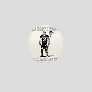 Lacrosse_BestDefense Mini Button