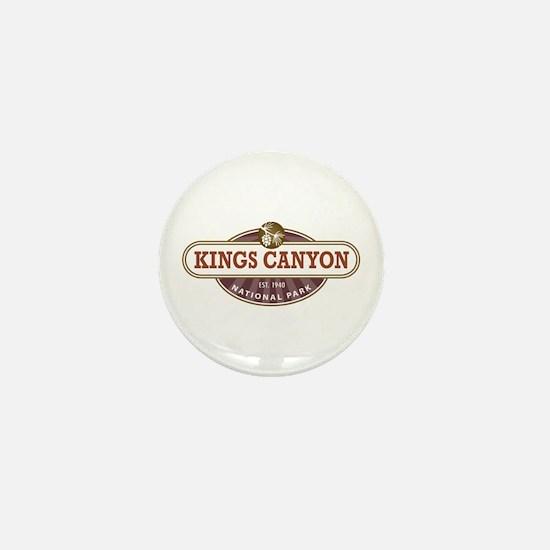Kings Canyon National Park Mini Button