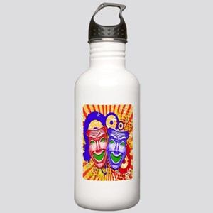 COMEDY MASK Stainless Water Bottle 1.0L