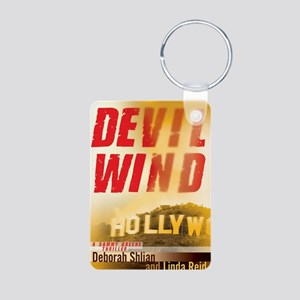 Devil-Wind-web Aluminum Photo Keychain