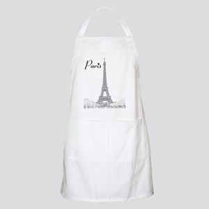 EiffelTower_10x10_apparel_BlackOutline Apron