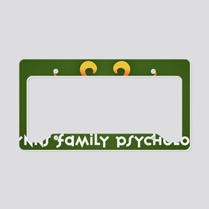 Wynns_Family_Psychology_Logo_ License Plate Holder