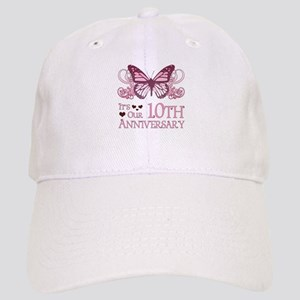 10th Wedding Aniversary (Butterfly) Cap