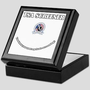 TSA_Screener Keepsake Box