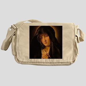 Madonna by Il Sassoferrato Messenger Bag