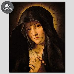 Madonna by Il Sassoferrato Puzzle
