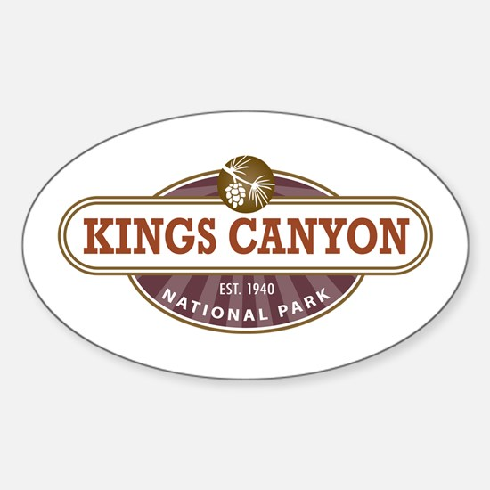 Kings Canyon National Park Decal