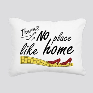 'No Place Like Home' Rectangular Canvas Pillow