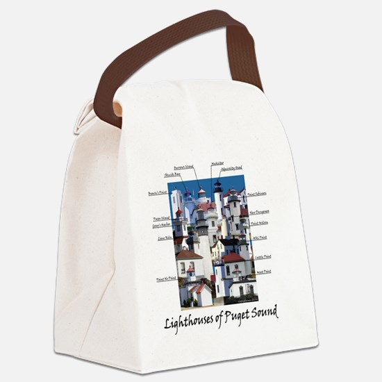 Puget Sound Design 10x10 Canvas Lunch Bag
