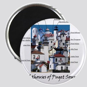 Puget Sound Design 10x10 Magnet