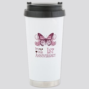 1st Wedding Aniversary (Butterfly) Stainless Steel