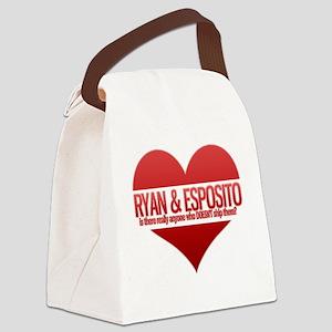 ryanespoheart Canvas Lunch Bag