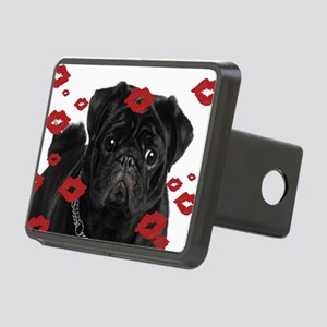 Pugs and Kisses 5x7 Rectangular Hitch Cover