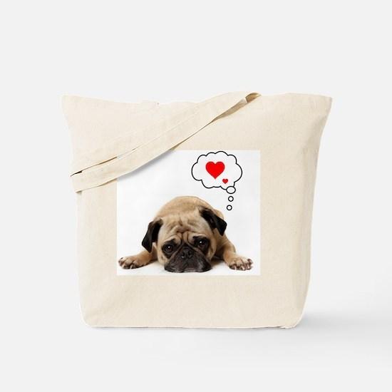 Valentine 5x7 Tote Bag