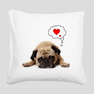 Valentine 5x7 Square Canvas Pillow
