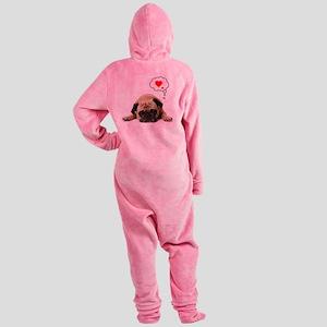 Valentine 5x7 Footed Pajamas